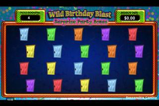 Wild Birthday Blast Pick Me Bonus