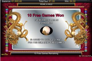 50 Dragons Mobile Slot Free Games