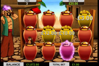 Ali Baba Mobile Slot Gold or Bandit Bonus