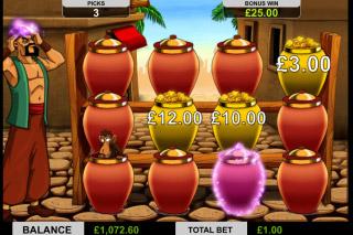Ali Baba Mobile Slot Gold or Bandit Bonus