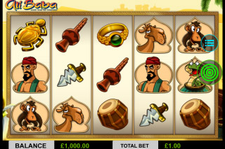 Ali Baba Mobile Slot Screenshot