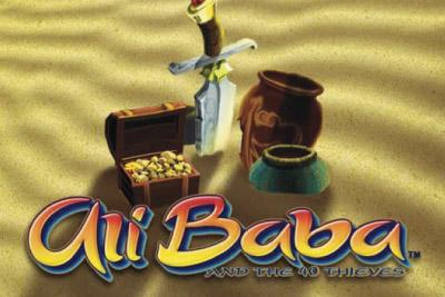 Ali Baba Slot Logo