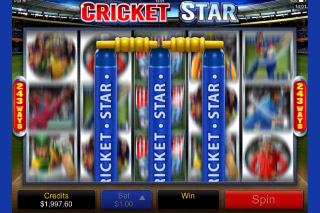 Cricket Star Mobile Slot Bonus Wilds