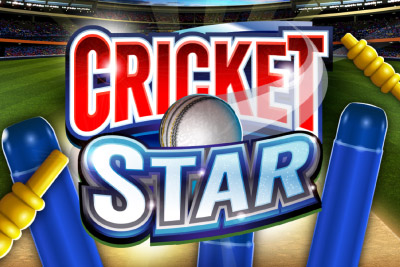 Cricket Star Mobile Slot Logo