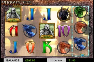 Dragon Slot Mobile Screenshot