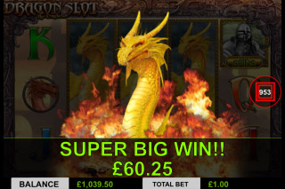 Dragon Slot Mobile Slot Big Win
