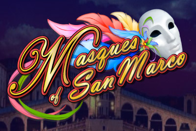 Masques of San Marco Mobile Slot Logo