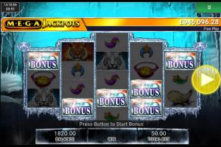 MegaJackpots Siberian Storm Mobile Slot Bonus