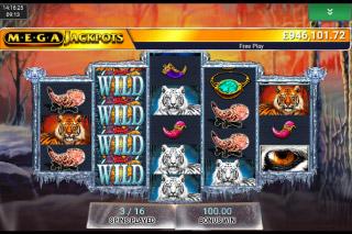 MegaJackpots Siberian Storm Mobile Slot Free Spins