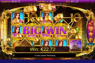 Miss Midas Mobile Slot Big Win