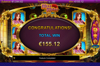 Miss Midas Mobile Slot Free Spins Win