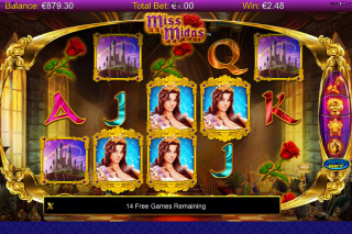 Miss Midas Mobile Slot Screenshot
