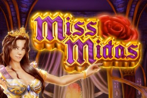 Miss Midas Mobile Slot Logo