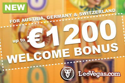 New Austrian, Swiss and German Casino Bonus