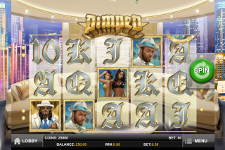 Pimped Mobile Slot Screenshot