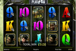 Platton Mobile Slot Wilds