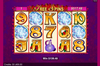Secret Admirer Mobile Slot Free Spins