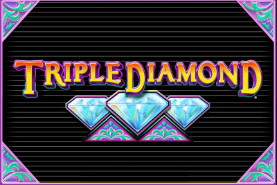 Triple Diamond Mobile Slot Logo