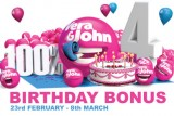 Celebrate in Style With Your First Deposit Bonus & Free Spins