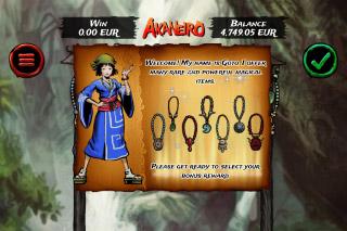 Akaneiro Slot Bonus Game