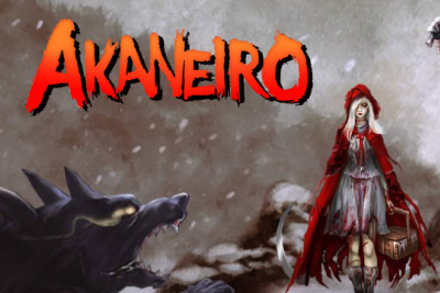 Akaneiro Slot Logo