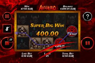 Akaneiro Super Big Win