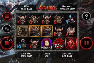 Akaneiro Slot Screenshot