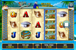 Aloha Island Mobile Slot Screenshot