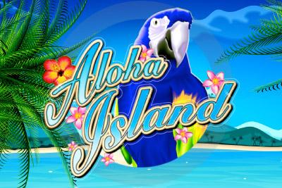 Aloha Island Mobile Slot Logo