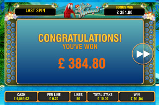 Aloha Island Mobile Slot Win