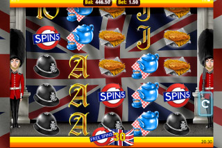 Best of British Mobile Slot Free Spins