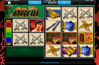 Bruce Lee Free Spins