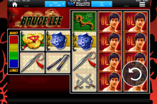 Bruce Lee Slot Screenshot