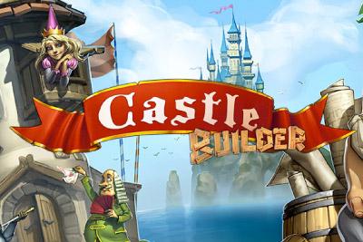 Castle Builder Mobile Slot Logo