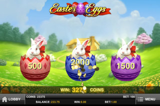Easter Eggs Mobile Slot Pick Me Bonus