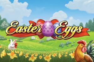Easter Eggs Mobile Slot Logo