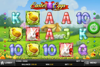 Easter Eggs Mobile Slot Screenshot