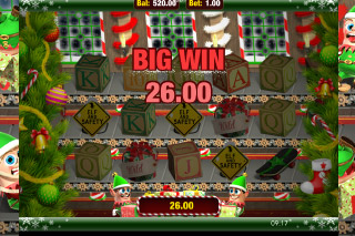 Elf & Safety Slot Big Win