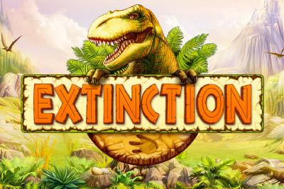 Extinction Mobile Slot Logo