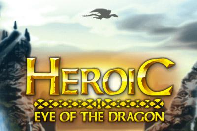 Heroic Slot Logo