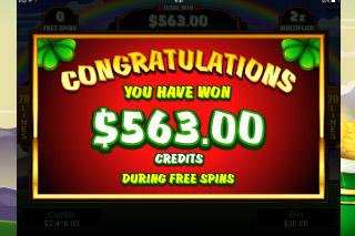 Lucky Leprechaun Mobile Slot Big Win