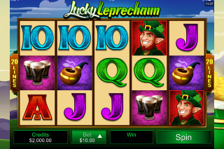 Lucky Leprechaun Slot Screenshot