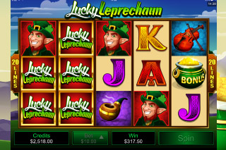 Lucky Leprechaun Slot Wilds