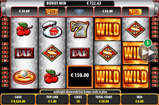 Midnight Diamonds Slot Wilds