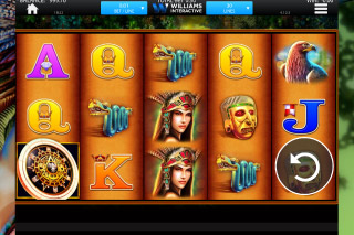 Montezuma Slot Screenshot