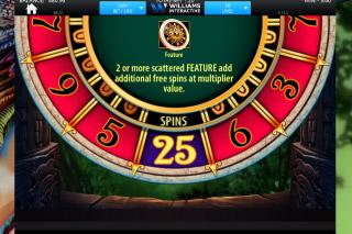 Wilds & free spins in Montezuma slot, enjoy at Casumo