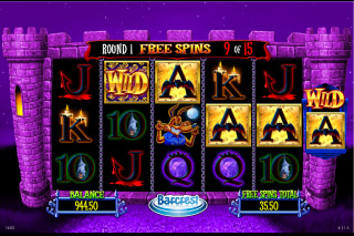 Ooh Ahh Dracula Free Spins Round