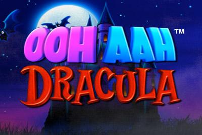 Ooh Ahh Dracula Mobile Slot Logo