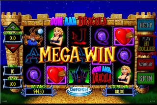 Ooh Ahh Dracula Mobile Slot Mega Win