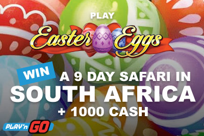 Play Easter Eggs Slot & Win 9 Day South African Safari